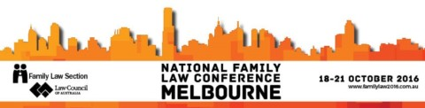 17th biennial National Family Law Conference, Melbourne 18-21 October 2016