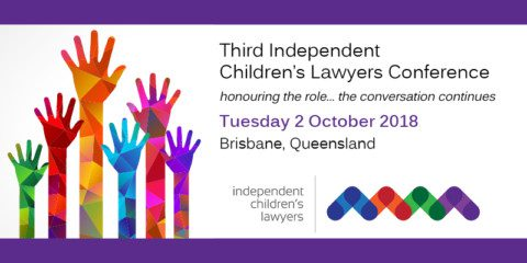 3rd National Independent Children's Lawyer Conference- save the date