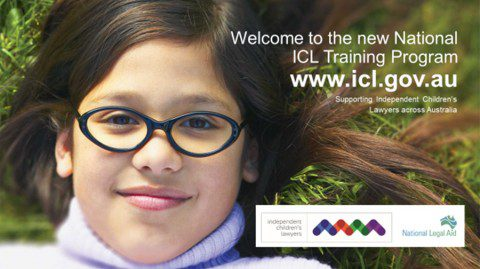 The new National ICL Training Program for family lawyers seeking to join an ICL panel-now live on the website